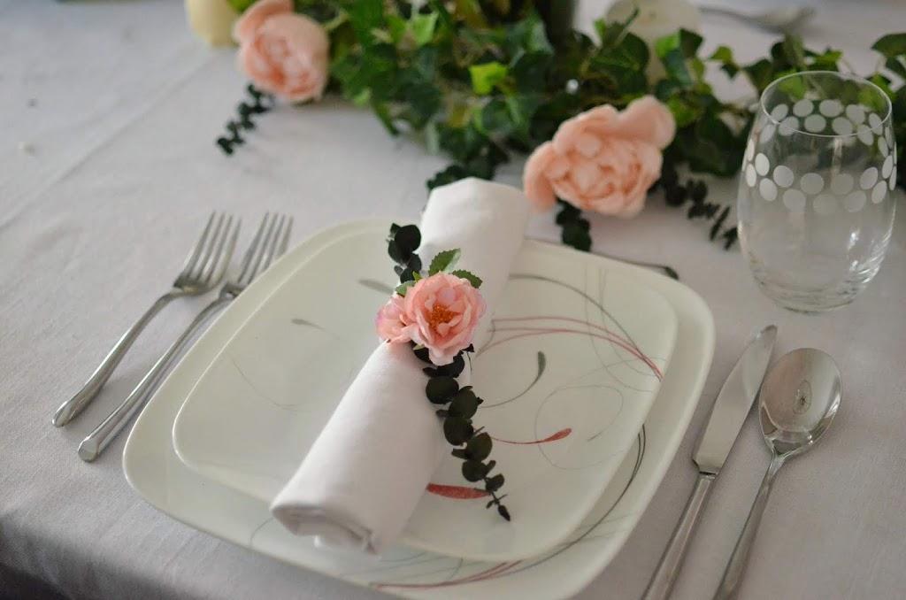 Easy Diy Flower Napkin Ring Insidemyescapes